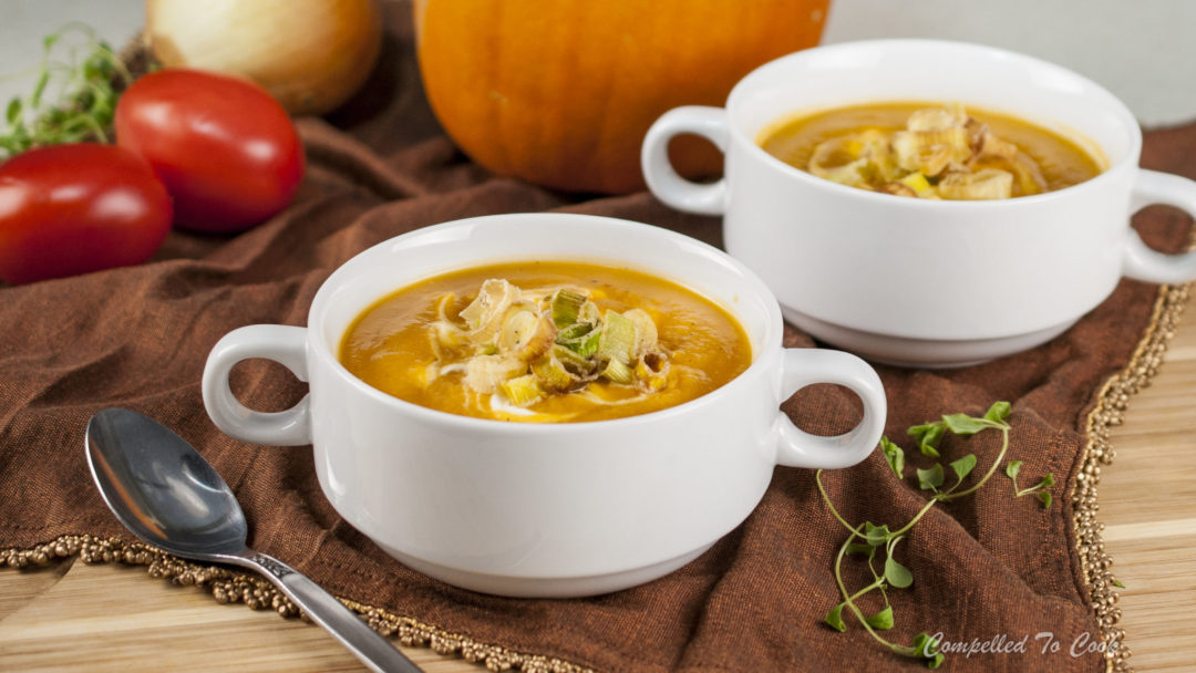 Roasted Tomato Pumpkin Soup