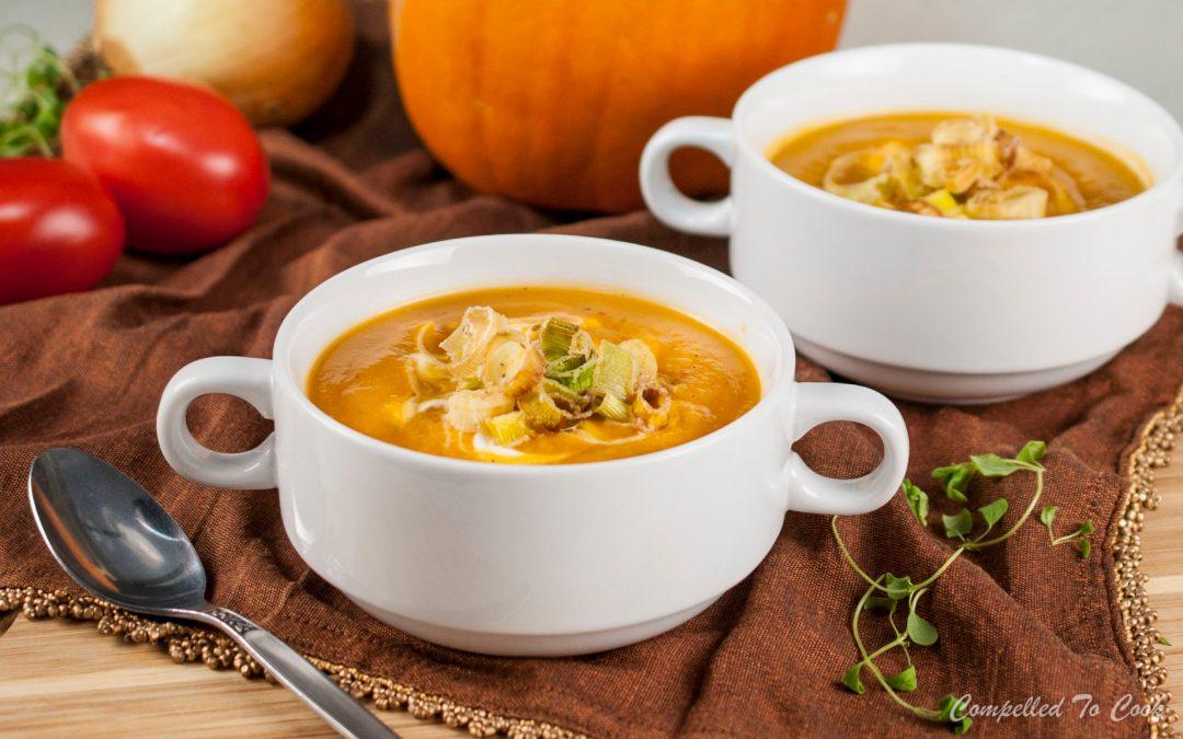 how to make roast pumpkin soup