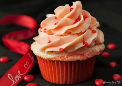 Cinnamon Heart Cupcakes