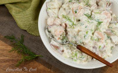 Fennel and Shrimp Potato Salad