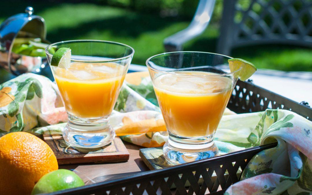 Mango Peach Margaritas