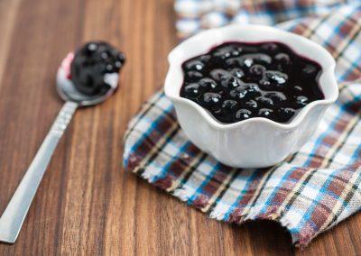 Balsamic Blueberry Sauce
