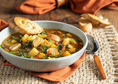 Rustic Potato and Sausage Soup