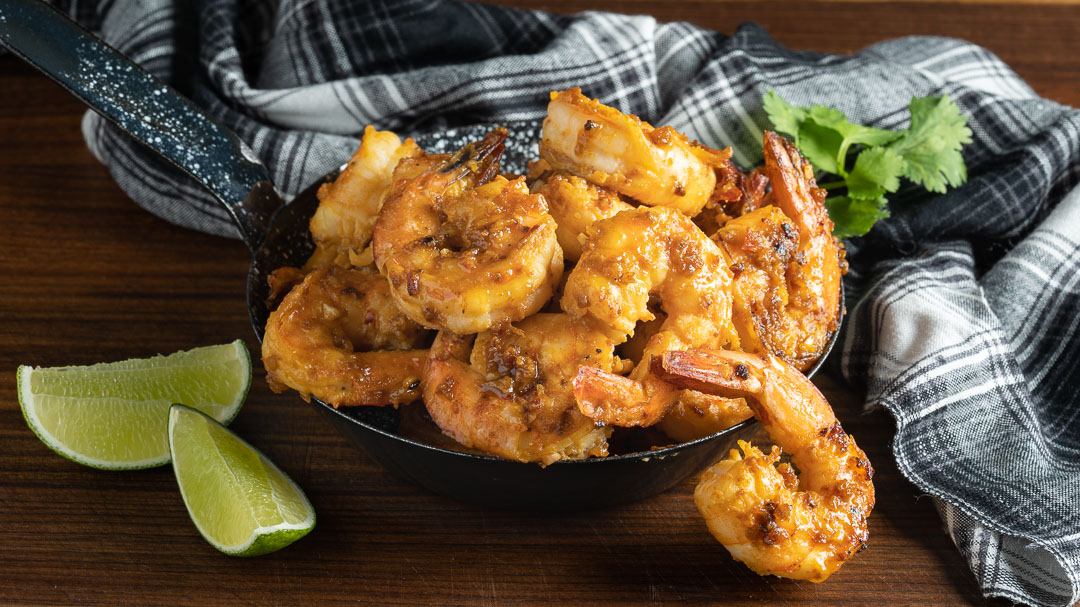 Spicy Miso Shrimp