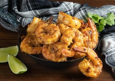 Spicy Miso Shrimp