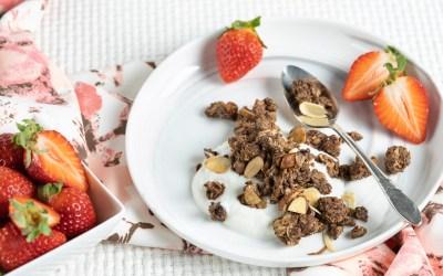 Ultimate Chocolate Almond Granola