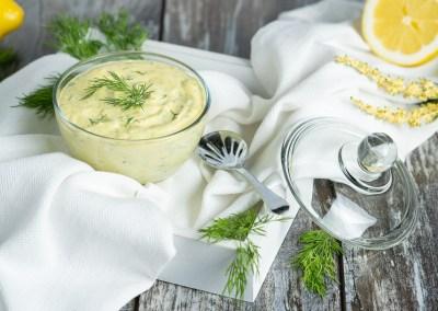 Creamy Mustard Dill Sauce