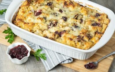 Leftover Turkey  Dinner Strata