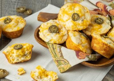 Cheddar Jalapeño Muffins