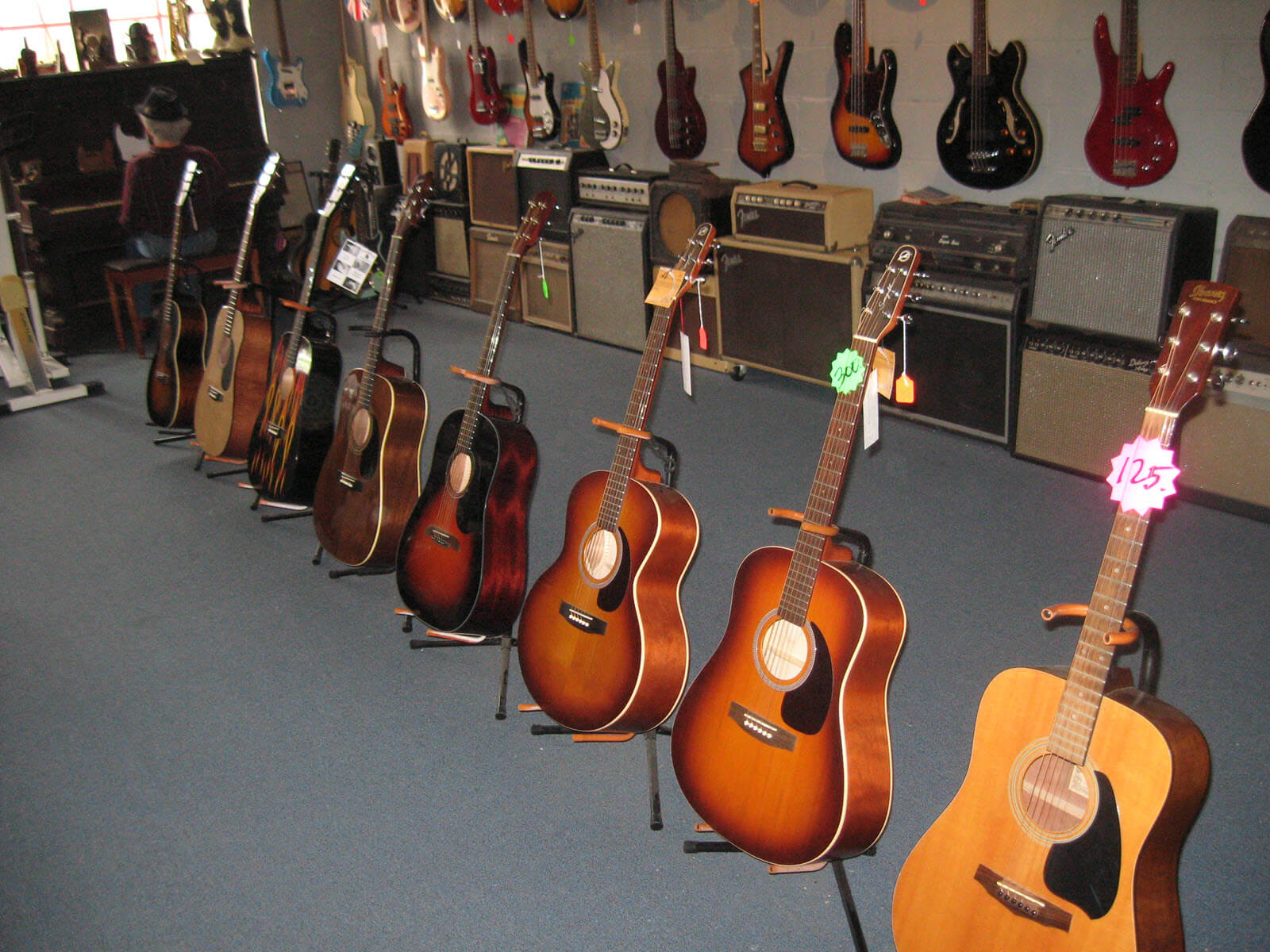 Electric Guitars, Acoustic Guitars, & Bass Guitars - Competition Music in Fort Worth, TX