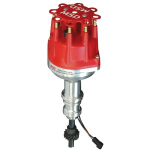 MSD Ignition, ProBillet Small Diameter Distributor, w Mechanical Advance, Ford 289302, Small