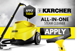 test and keep Karcher steam cleaner