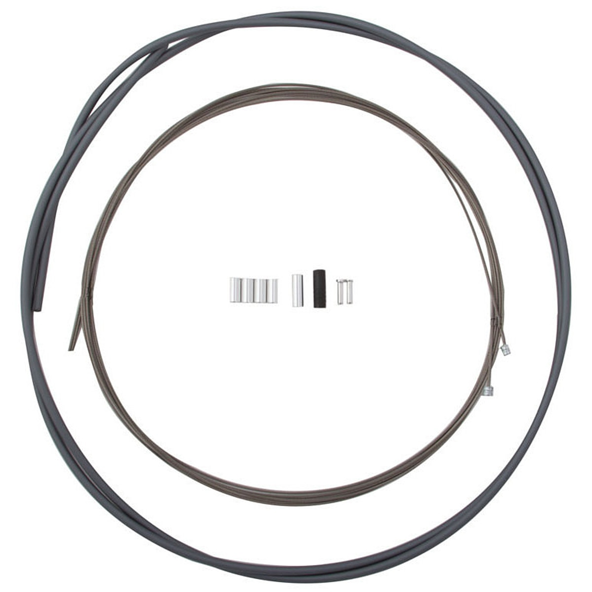 Shimano Ptfe Shift Cable And Housing Grey One Size