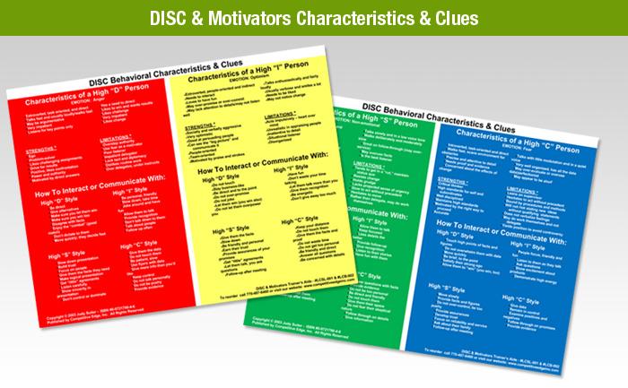 Motivators-Characteristics-Clues