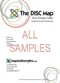 MapMyStrengths.com - All Samples