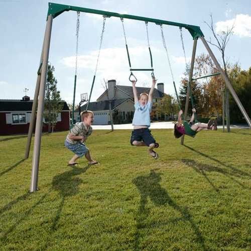 Heavy Duty Commercial Quality Swing Set Sale Today Free Shipping