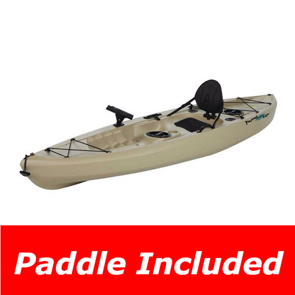 Lifetime Muskie Angler Kayak On Sale Free Shipping Amp Free Paddle