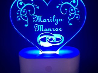 Wedding placemarker