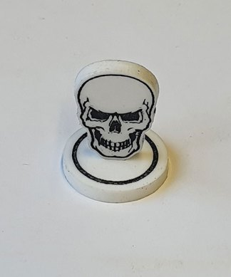 skull token single closeup