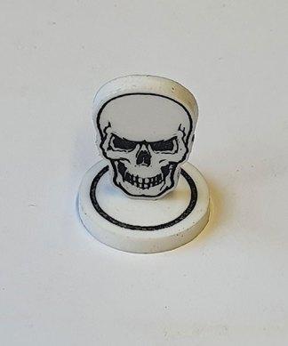 skull token single closeup