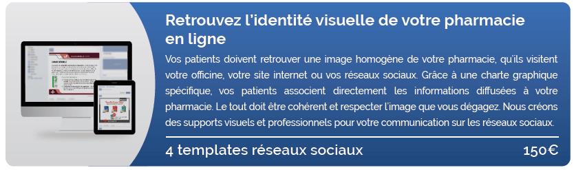 Retrouvez l'identité visuelle de votre pharmacie en ligne