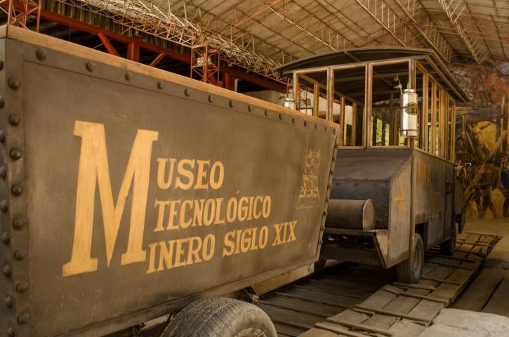 Museo Tecnológico Minero del siglo XIX.