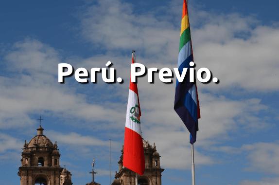 Perú, previo.