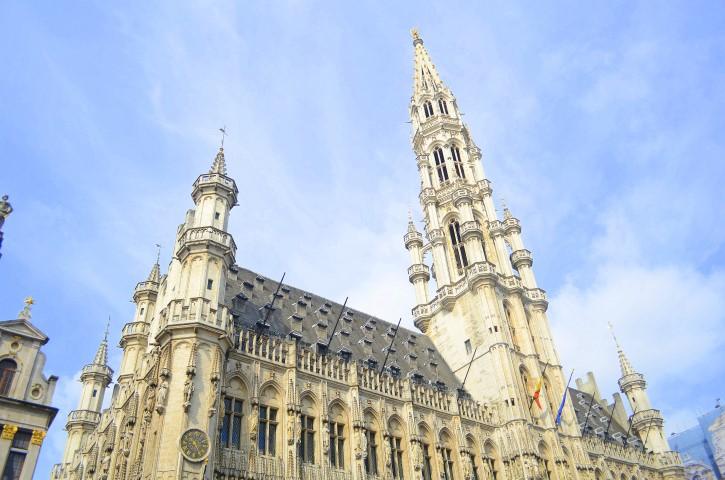 Town Hall de Bruselas, Bélgica.
