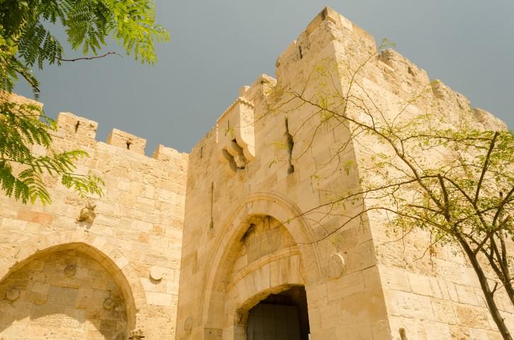 Jaffa Gate, Ciudad Vieja, Jerusalén.