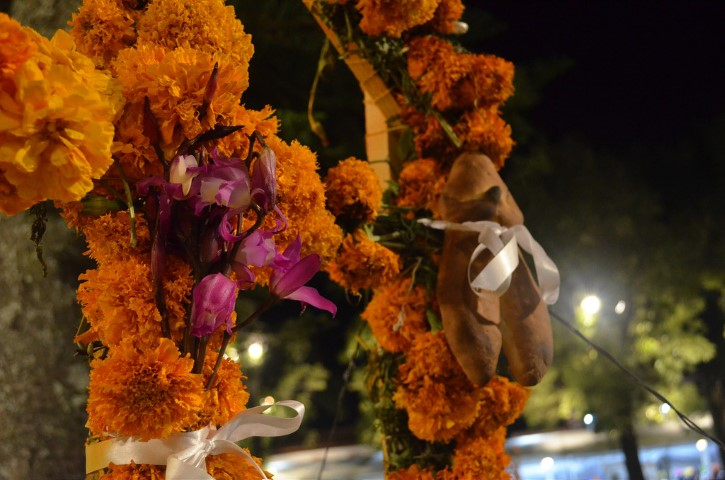 Altar en Día de Muertos, Patzcuaro, Michoacán.