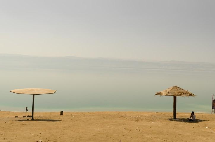 Mar Muerto, Ammán Beach, Jordania.