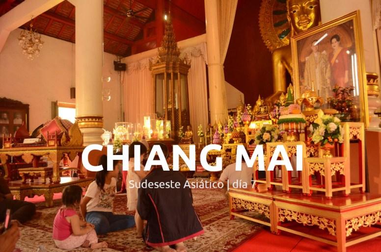 Chianga Mai, día 7. Portada.