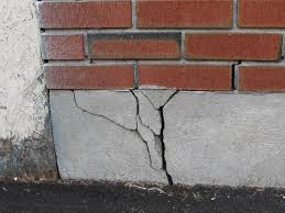 cracked foundation