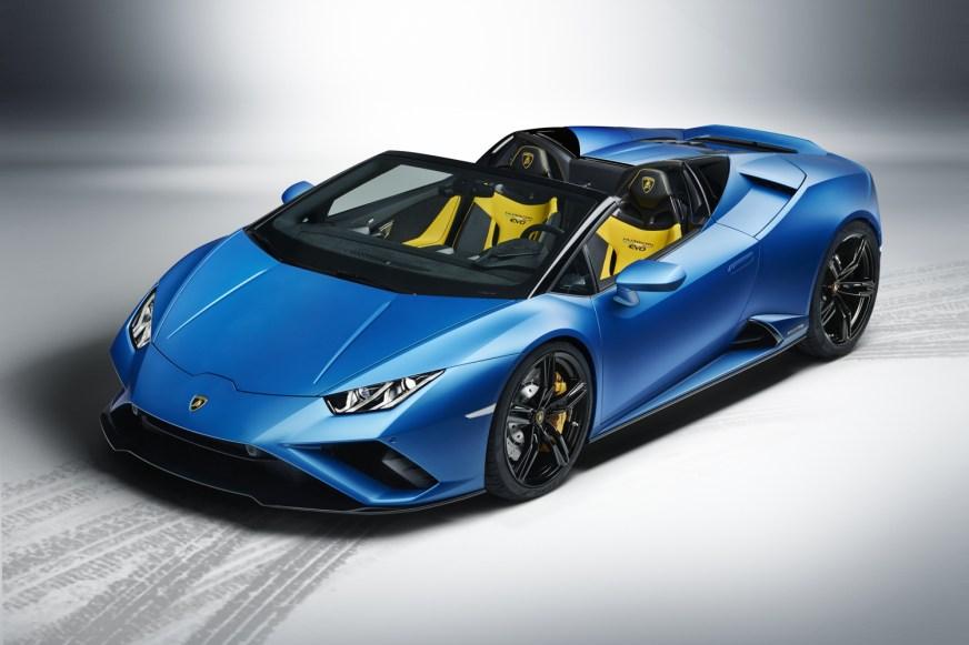 Lamborghini Huracan Evo Spyder goes RWD - car and motoring ...