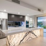 Stunning New York Marble Kitchen Completehome