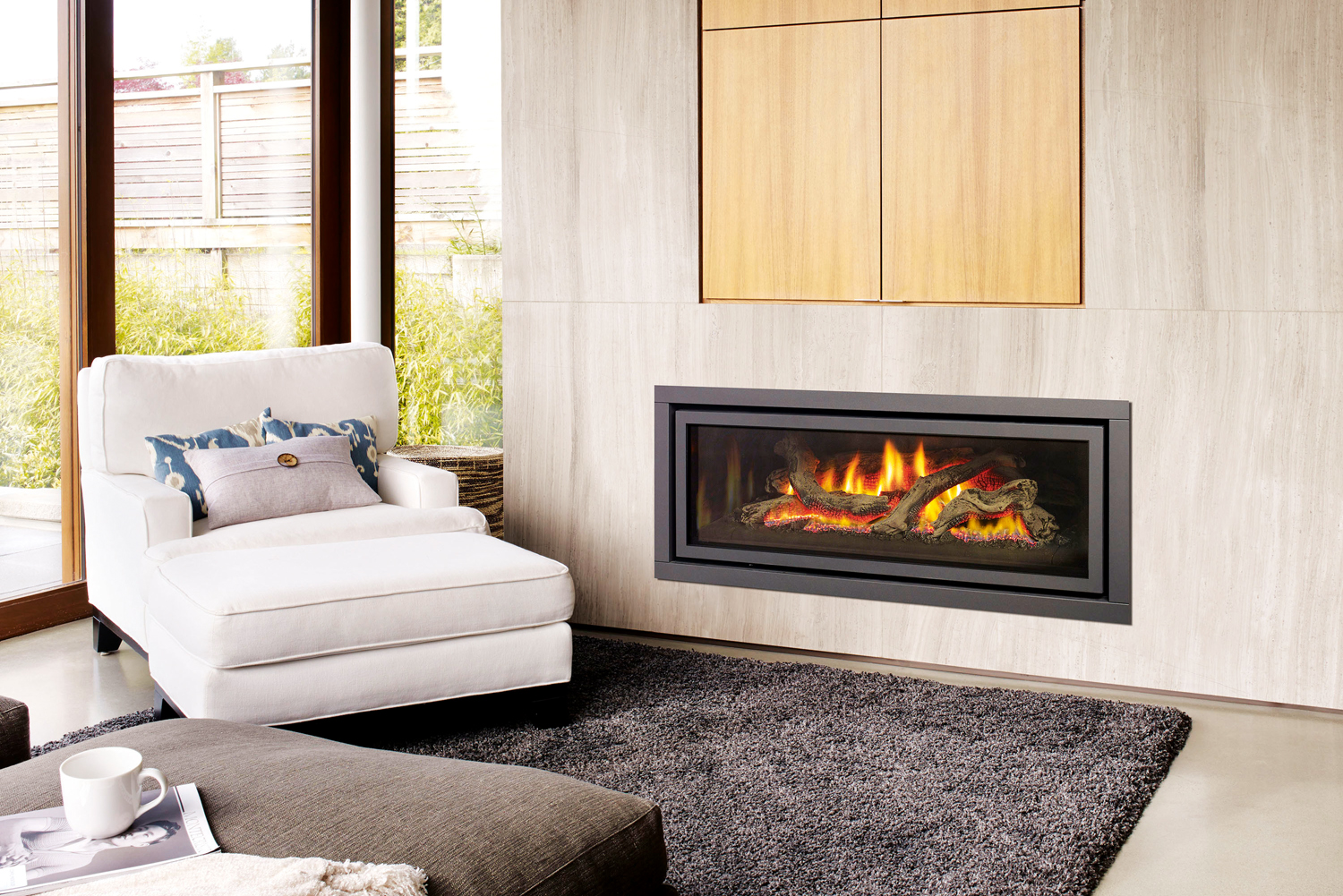 The Perfect Combination Direct Vent Gas Fireplace