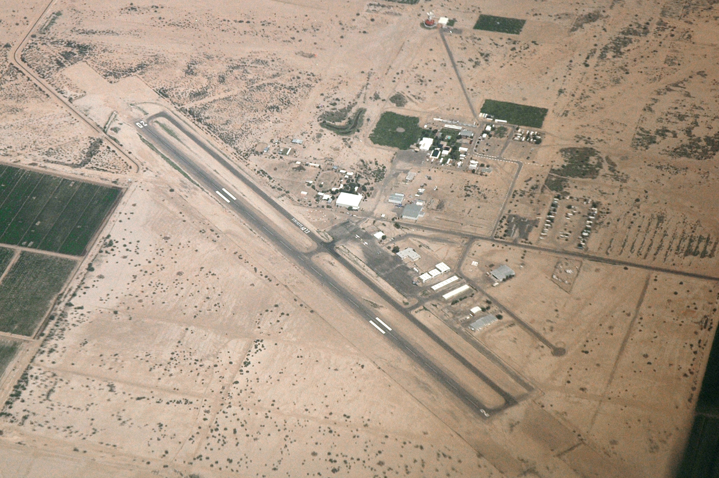 Eloy-municipal-airport-aerial-view
