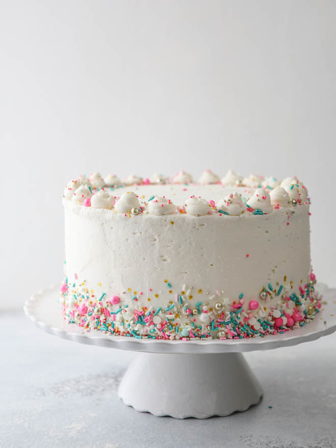 How To Frost A Layer Cake Completely Delicious