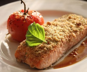 Anti-Inflammatory Diet – WALNUT CRUSTED SALMON