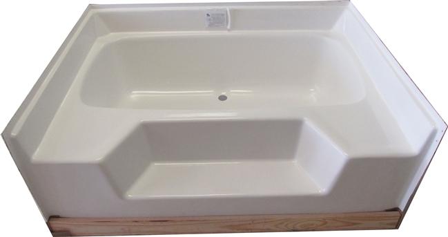 Mobile Home Bathtub 54x42 Fiberglass Replacement Garden Tub
