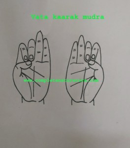 Mudra For Nervous disorders and weakness