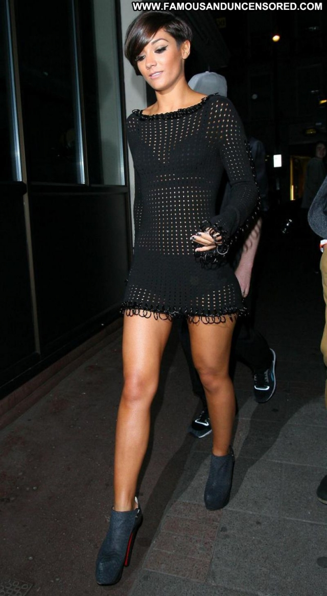 Frankie Sandford Sexy Dress Babe Uk Cute Showing Legs See Through