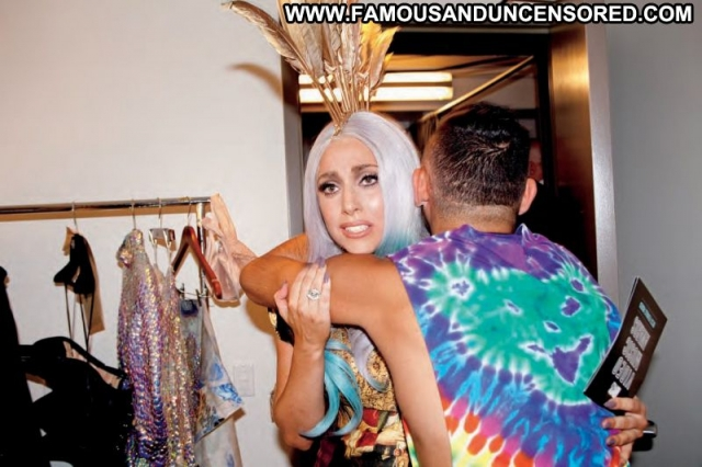 Lady Gaga Singer Babe Beautiful Posing Hot Celebrity Doll Sexy Blonde