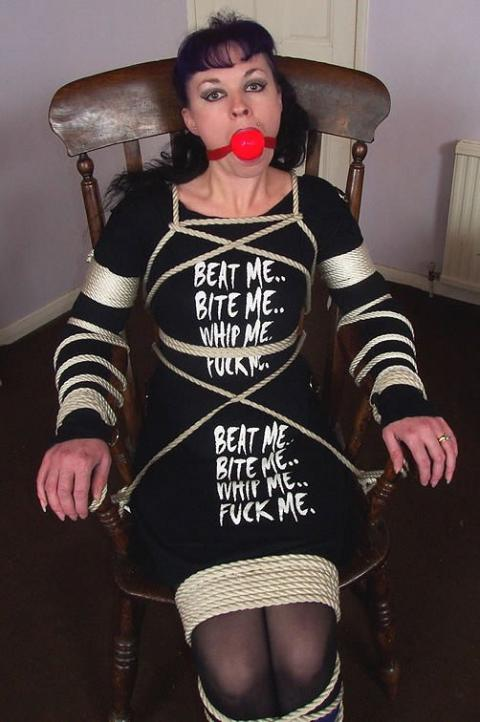 Elene Terror Tied Up Humiliation Kinky Fetish Bdsm Stunning
