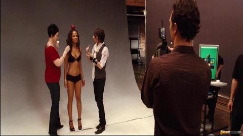 Christina Milian Movie Booty Lingerie Ebony Ethnic Hollywood