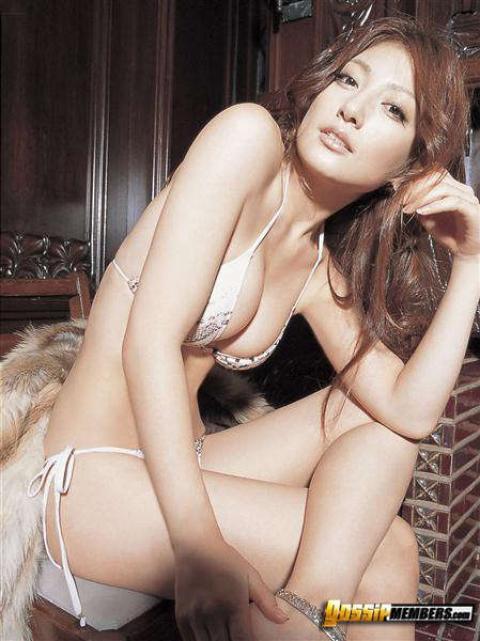 Yoko Kumada Japanese Asian Bikini Ethnic Athletic Slender