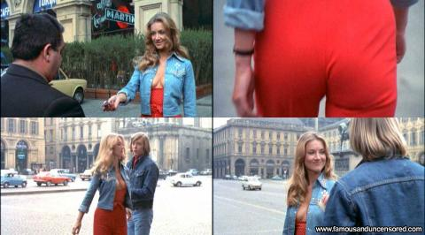 Barbara Bouchet Mean Hat Bar Nude Scene Posing Hot Celebrity