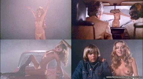 Barbara Bouchet Mean Stripping Skirt Panties Bar Car Famous