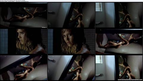 Scene jessica shower alba machete