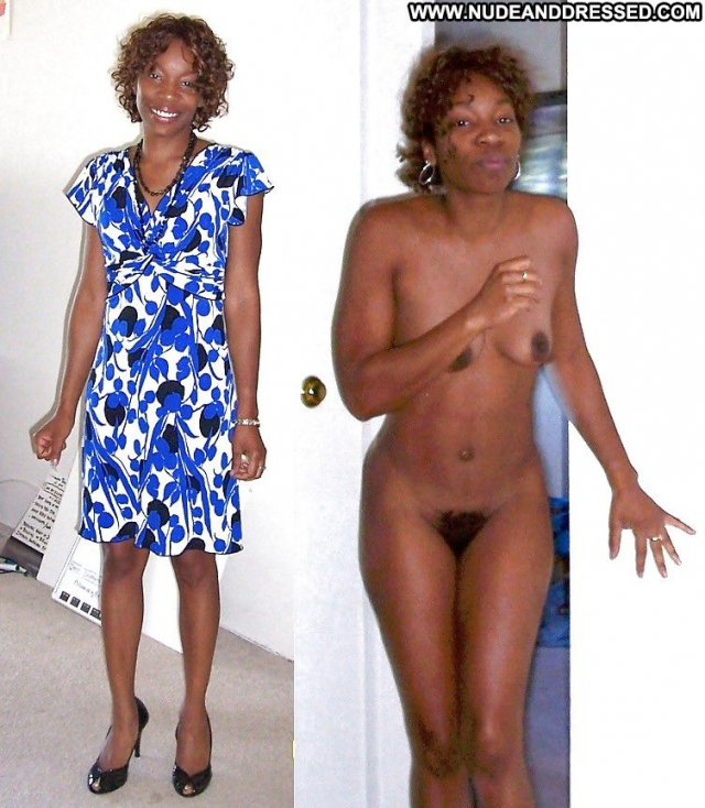 Several Amateurs Ebony Softcore Dressed And Undressed Nude
